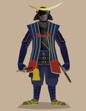 General do samurai Ilustração Royalty Free