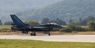 General Dynamics F-16 Fighting Falcon Royalty Free Stock Images