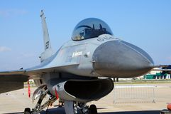 General Dynamics F-16 Falcon. Royalty Free Stock Photo