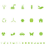 General Eco Environment Symbols Fotografie Stock