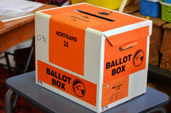 2014 General Election - Elections New Zealand Stock Images