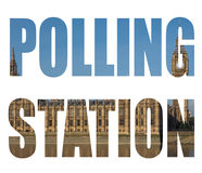 General elections polling station Stock Images