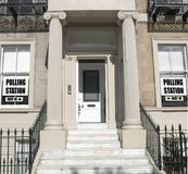 General elections polling station Stock Photography