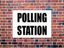 General elections polling station Royalty Free Stock Photography