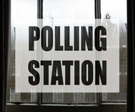General elections polling station Stock Image