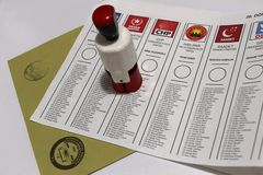 General Elections in Turkey, 2015 Stock Photos