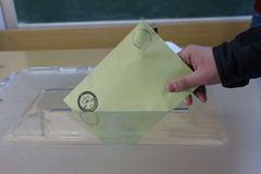 General Elections in Turkey, 2015 Royalty Free Stock Photo