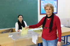 General Elections in Turkey, 2015 Stock Image