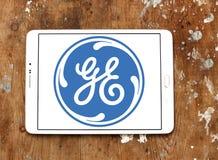 General Electric logo Fotografering för Bildbyråer