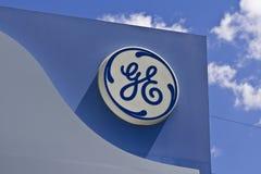 General Electric-Luftfahrt-Anlage III lizenzfreie stockfotos