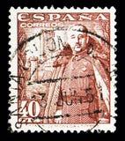 General Franco, serie, circa 1948 Royaltyfri Fotografi