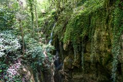Samandere Waterfall in Duzce Royalty Free Stock Photos