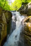 Samandere Waterfall in Duzce Stock Photography
