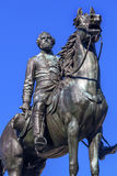 General George Thomas Civil War Statue Thomas Circle Washington DC. Major General George Henry Thomas Memorial Civil War Statue Thomas Circle Washington DC Stock Image