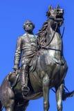 General George Thomas Civil War Statue Thomas Circle Washington DC Stock Image