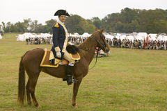 General George Washington Arkivbilder