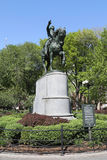 General George Washington Equestrian Statue at Union Square in Manhattan Royalty Free Stock Images