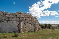 General Ggantija Temple View Stock Image