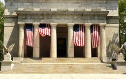 General Grant National Memorial no parque do beira-rio em Manha superior Fotografia de Stock