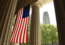 General Grant National Memorial and The Riverside Church in Uppe. R Manhattan in New York City, USA Stock Images