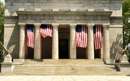 General Grant National Memorial in Riverside Park at Upper Manha. Ttan in New York City, USA Stock Photography