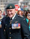 General Gualterio Natynczyk Fotografía de archivo