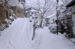 General Gurko Street in the Month of January Stock Photos