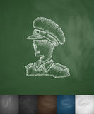 General icon. Hand drawn vector illustration Royalty Free Stock Photo