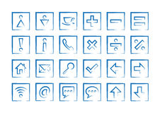 General icons Stock Images