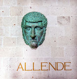 General Ignacio Allende Bust Alhondiga Guanajuato Mexico Stock Photography