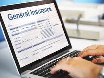 General Insurance Health Accident Financial Concept Stock Photo