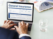General Insurance Information Document Concept Royalty Free Stock Images