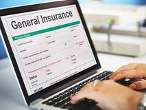 General Insurance Rebate Form Information COncept Royalty Free Stock Photos