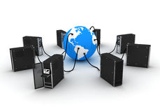 General internet (america) Royalty Free Stock Images