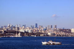 General Istanbul View Royalty Free Stock Images