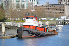 The General Jackson Tug in Vancouver Royalty Free Stock Photos