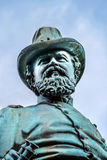 General James Mcpherson Civil War Memorial Mcpherson Square Washington DC. General James Mcpherson Memorial Civil War Statue Mcpherson Square Washington DC Stock Photo