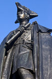 General James Wolfe Statue in Greenwich Park Stock Photos