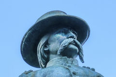 General John Logan Civil War Memorial Logan Circle Washington DC. General John Logan Memorial Civil War Statue Logan Circle Washington DC.  Statue dedicated in Stock Images