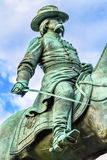 General John Logan Civil War Memorial Logan Circle Washington DC. General John Logan Memorial Civil War Statue Logan Circle Washington DC.  Statue dedicated in Royalty Free Stock Photography