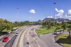 General Justo Avenue - Rio de Janeiro - Brazil Stock Photography
