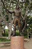 General Lachlan Macquarie Statue. Sydney - Australia royalty free stock photo