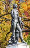General Lafayette Statue Lafayette Park Autumn Washington DC Royalty Free Stock Photography