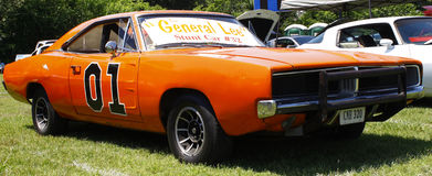 General Lee Stunt car Royalty Free Stock Photos