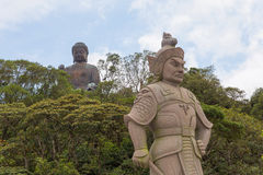 The General Makura at Ngong Ping Stock Photo