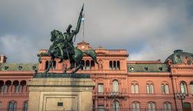 General Manuel Belgrano statue Royalty Free Stock Image