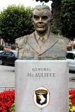 General McAuliffe Fotos de archivo libres de regalías