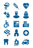 General medical icons Stock Photos