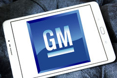 General Motors, λογότυπο της GM Στοκ Εικόνες