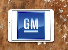 General motors, GR.-Logo Lizenzfreie Stockbilder